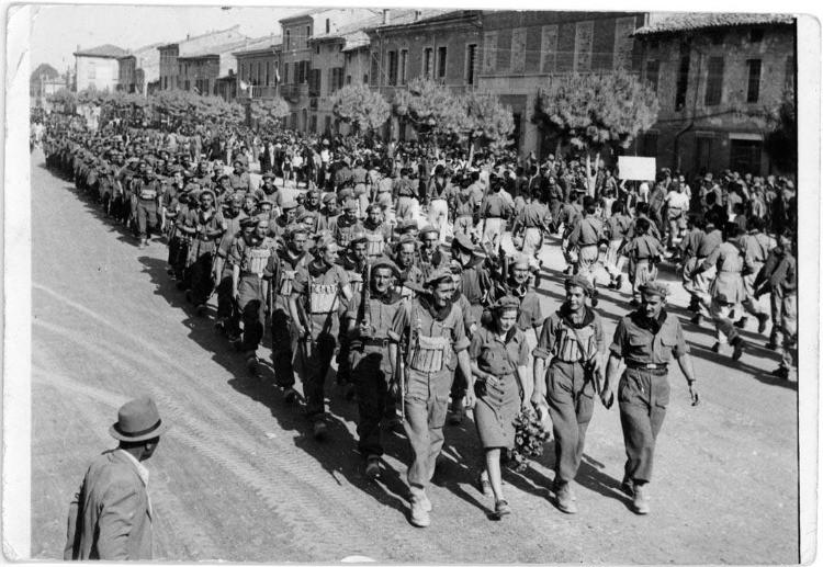 Immagini del movimento di Resistenza in Romagna dopo l'armistizio dell'8 settembre 1943