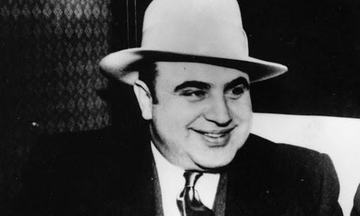 Immagine del gangster Al Capone