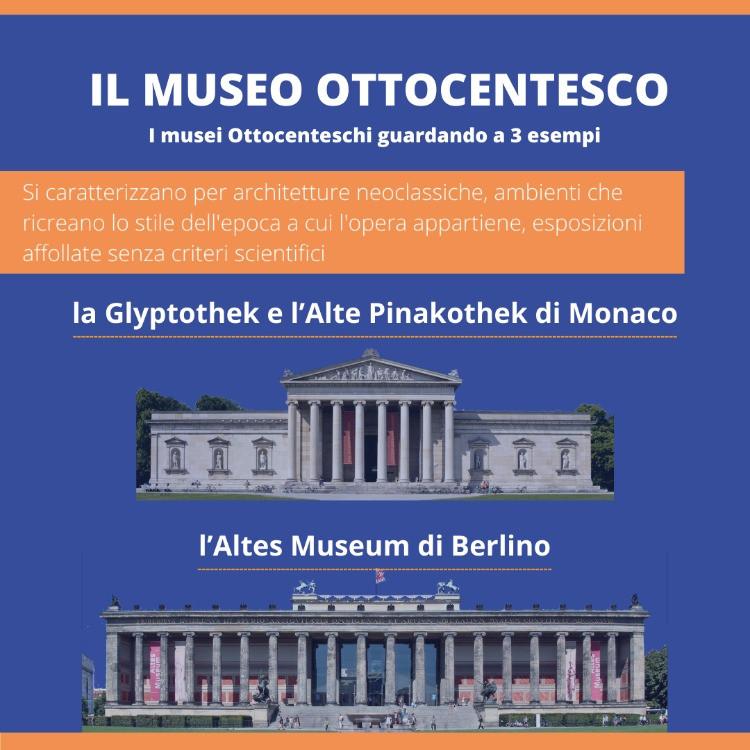 Glyptothek e l'Alte Pinakothek Monaco