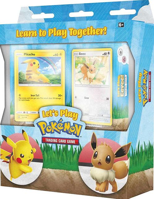 Pokemon Let's Play Theme Decks