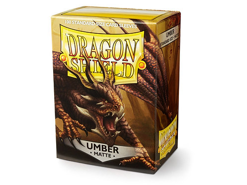 Dragon Shield Standard Size Sleeves 100's - Umber 'Teranha'