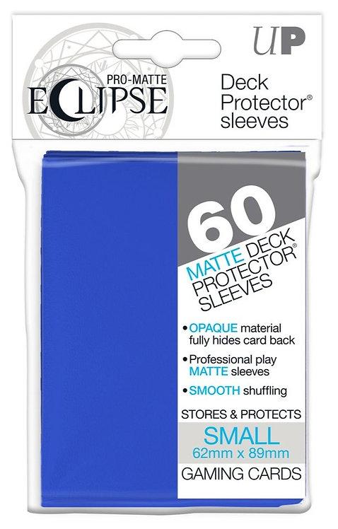 Ultra Pro Eclipse Matte Small 60pk - Pacific Blue