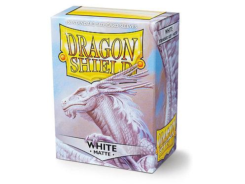 Dragon Shield Standard Size Sleeves 100's - White 'Bounteous'