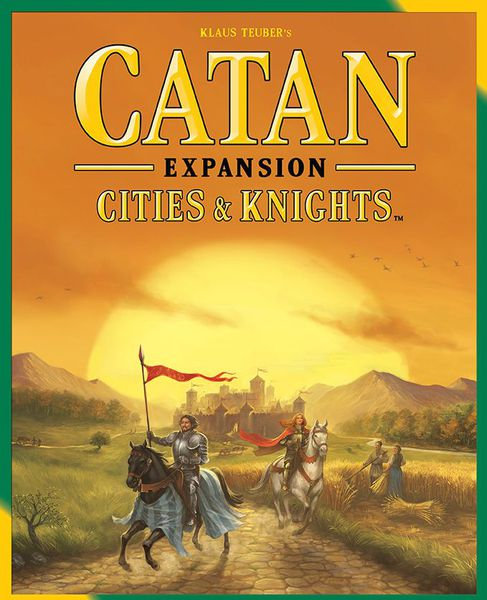 Catan - The Settlers Cities and Knights Expansion