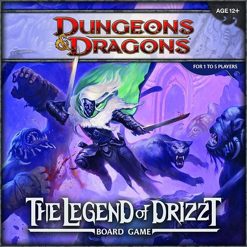 Dungeons and Dragons - Legend of Drizzt Board Game