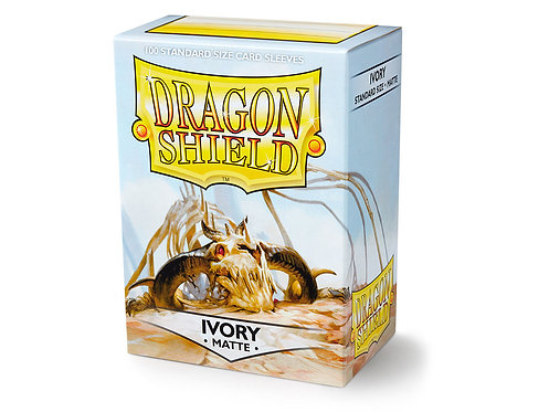 Dragon Shield Standard Size Sleeves 100's - Ivory 'Ogier'
