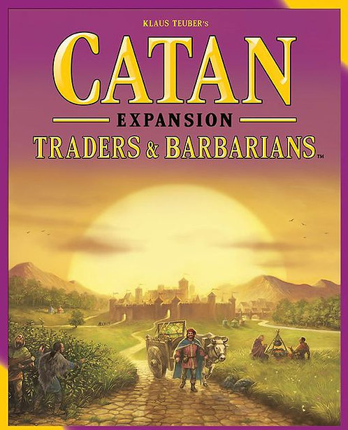 Catan - The Settlers Traders and Barbarians Expansion