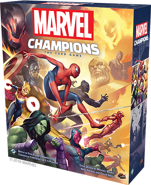Marvel Champions the Card Game Base set
