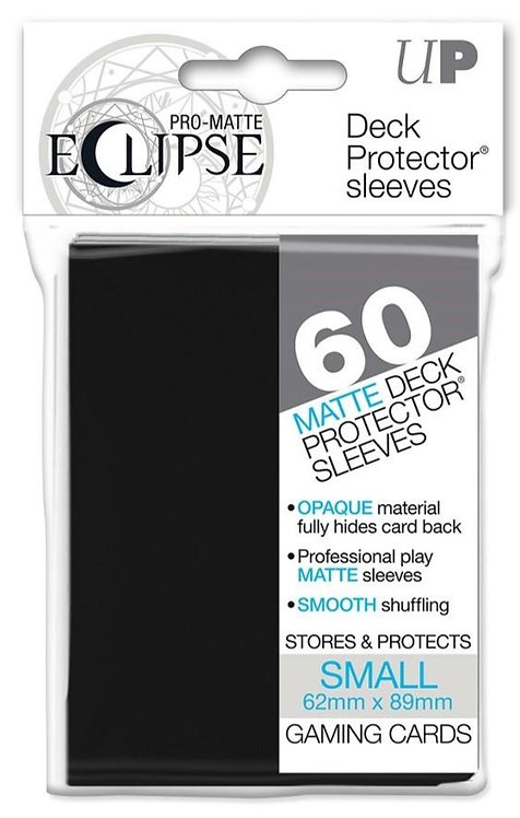 Ultra Pro Eclipse Matte Small 60pk - Black