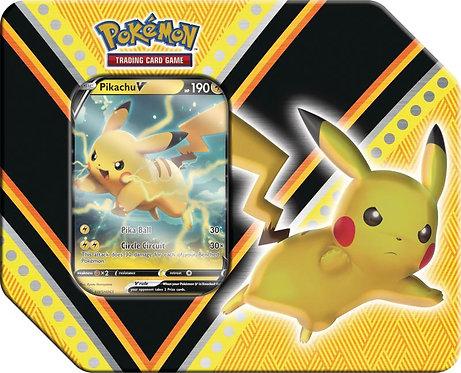 Pokemon V Powers Tin - Pikachu V