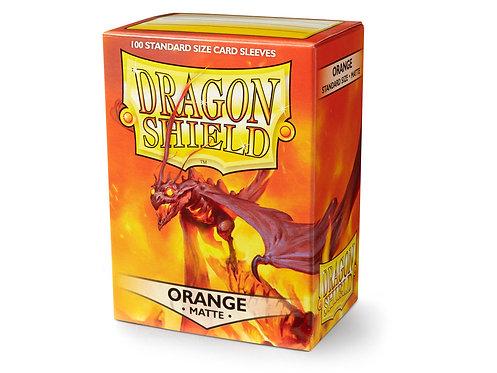 Dragon Shield Standard Size Sleeves 100's - Orange 'Usaqin'