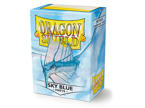 Dragon Shield Standard Size Sleeves 100's - Sky Blue 'Strata'