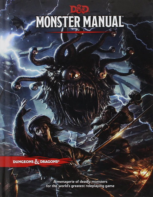 Dungeons and Dragons Monsters Manual