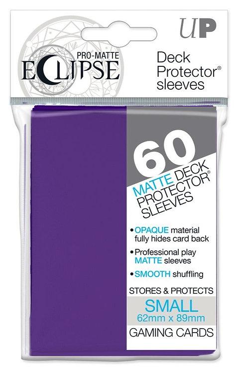 Ultra Pro Eclipse Matte Small 60pk - Royal Purple