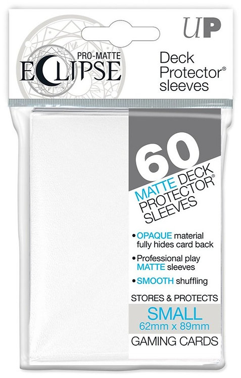Ultra Pro Eclipse Matte Small 60pk - White