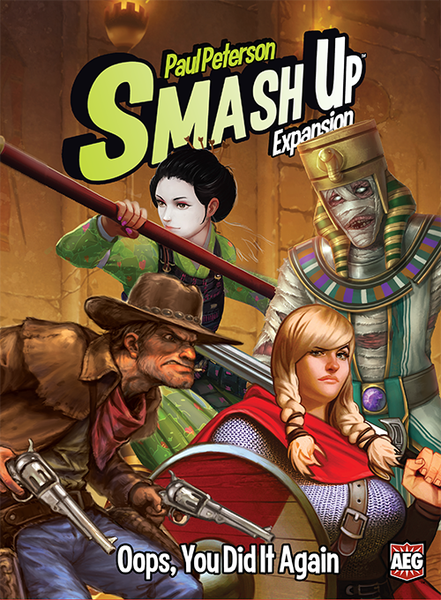 Smash Up - Oops,You Did It Again Expansion