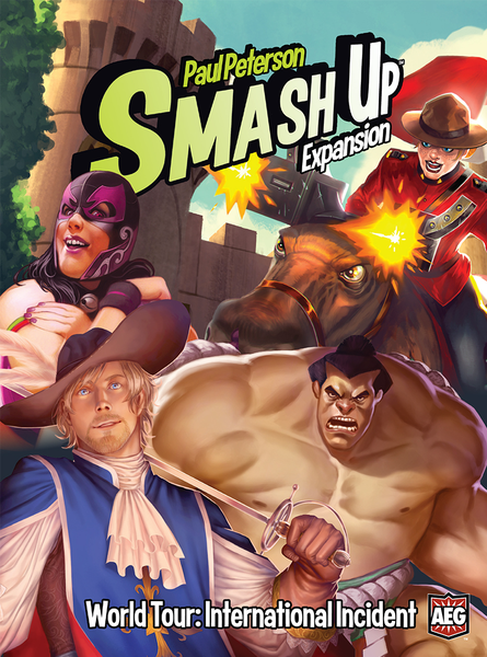 Smash Up - World Tour: International Incident Expansion