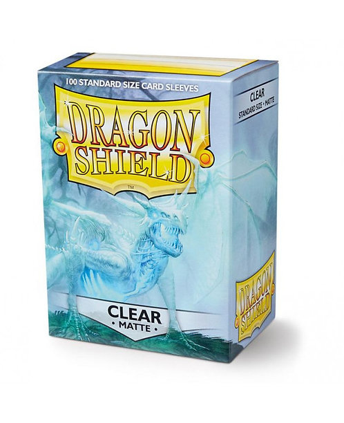 Dragon Shield Standard Size Sleeves 100's - Clear 'Angrozh'