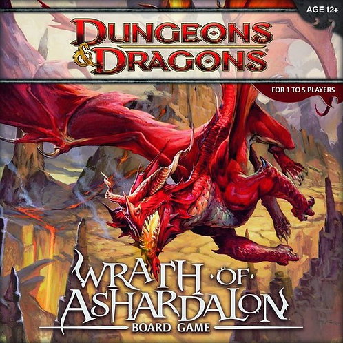 Dungeons and Dragons - Wrath of Ashardalon Board Game