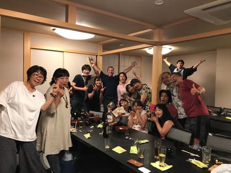 キャメロン・タメルのドラムアバウト大阪編 DAY-2