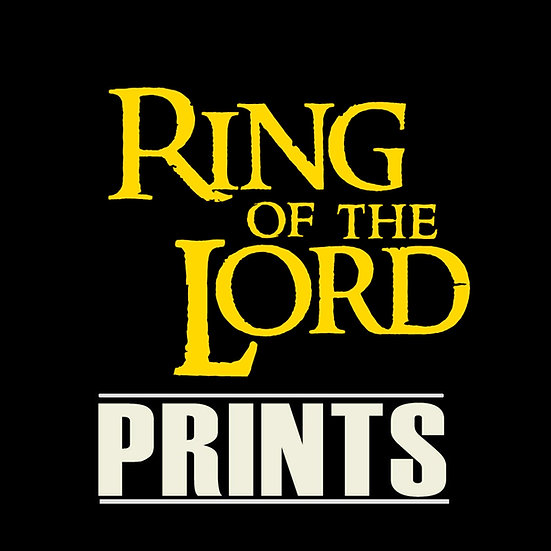 Lord Of The Ring Prints