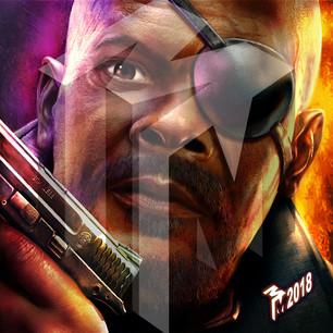 Nick Fury - Samuel L Jackson - Marvel Comics