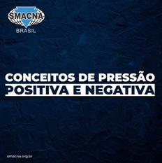 Conceitos de pressão positiva e negativa