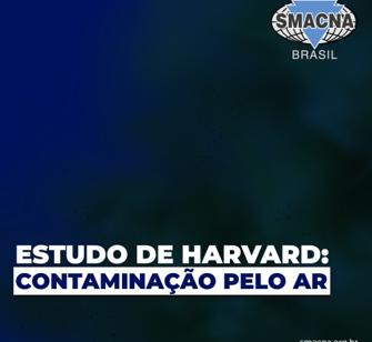 Estudo de Harvard: Contaminação pelo ar