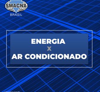 Energia X Ar condicionado