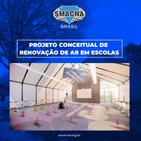 Projeto conceitual de renovação de ar em escolas