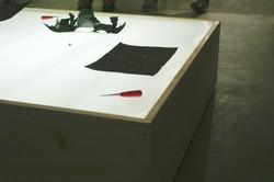 黒い紙と目打ちを使ったワークショップ