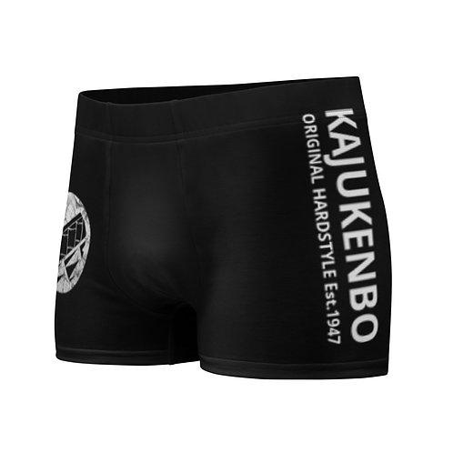 """Boxer Briefs Kaju Life """"Impact"""" Series White Logo"""