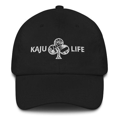 Hat Kaju Life white logo