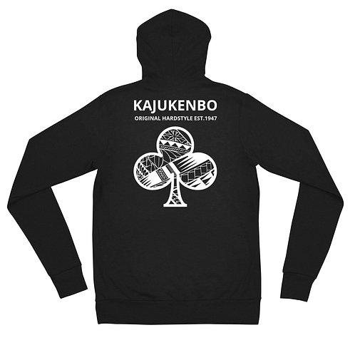 "Zip Hoodie Kaju Life ""Original Hardstyle"" Series White Logo"