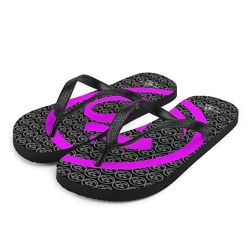 "Slippers Kaju Life ""OM"" series hot purple"