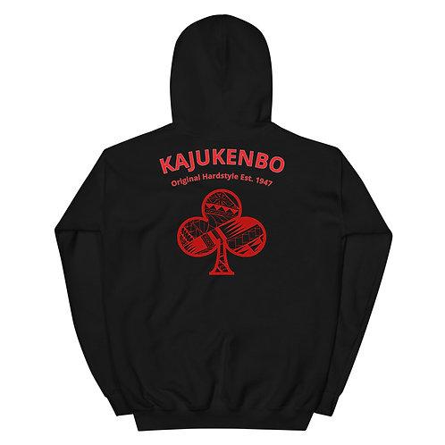 "Unisex Hoodie Kaju Life ""Original Hardstyle"" Series Red Logo"
