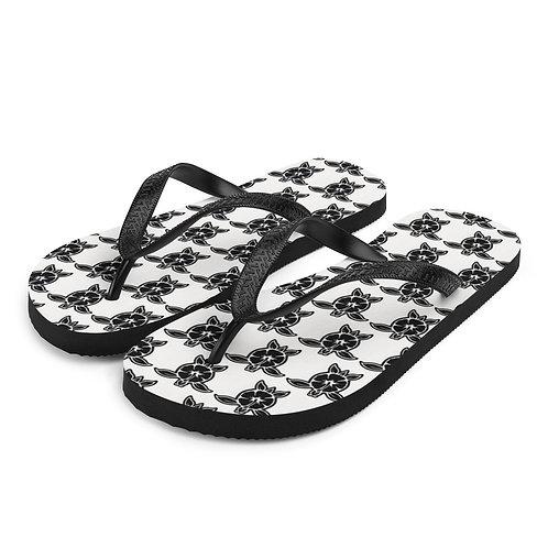 Slippers Aloha series Honu Black