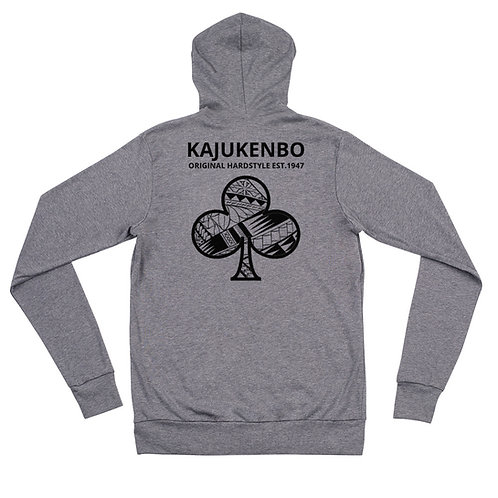 "Zip Hoodie Kaju Life ""Original Hardstyle"" Series Black Logo"