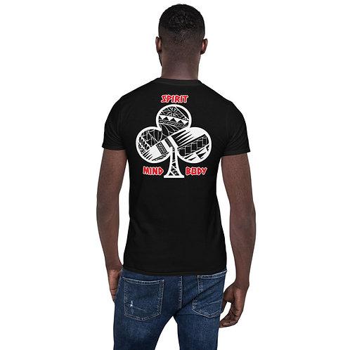 Short-Sleeve Unisex T-Shirt Kajukenbo series MBS Kaju Life white logo