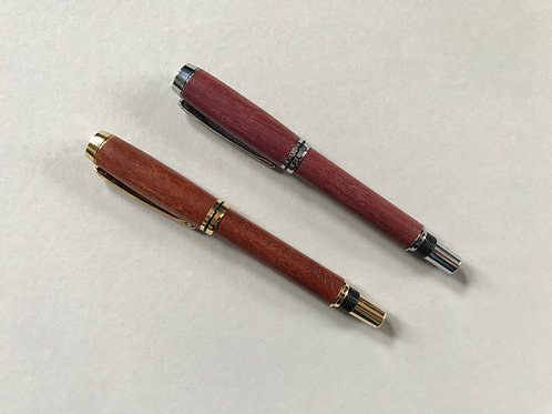 Baron Fountain Pen/Rollerball - Common grade wood choices