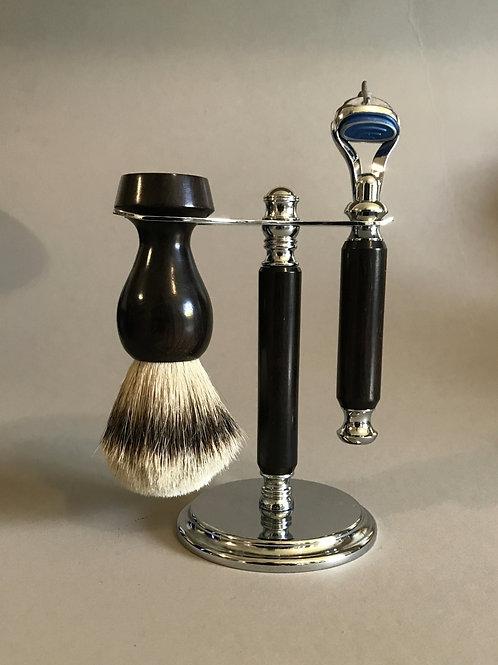 African Blackwood (rosewood) Shave Set