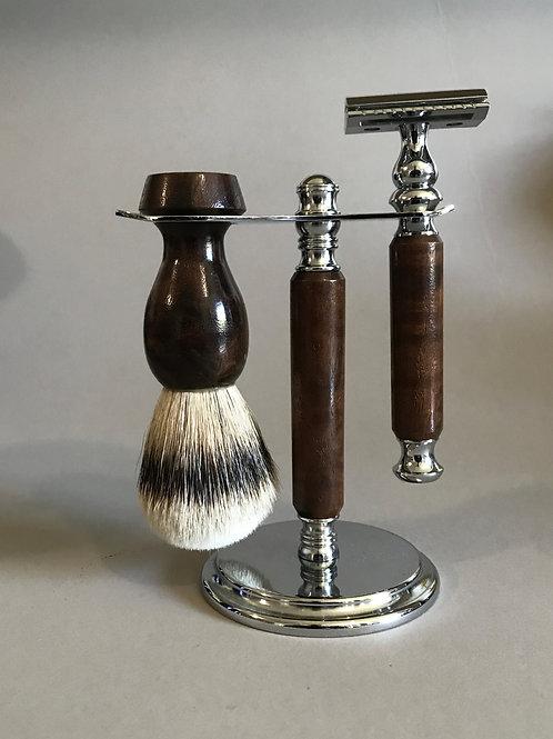 Claro Walnut Shave Set