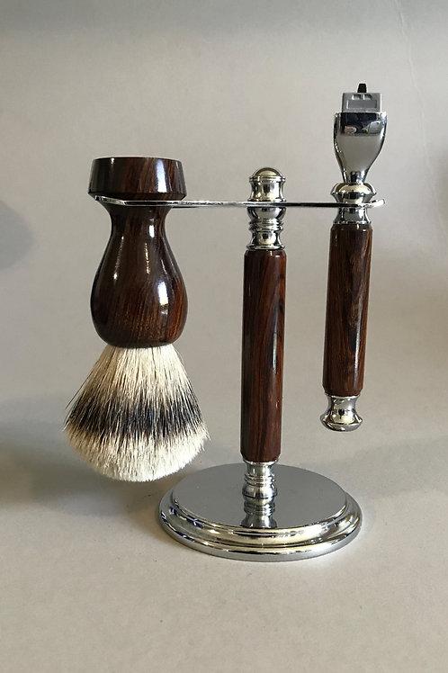 Desert Ironwood Shave Set