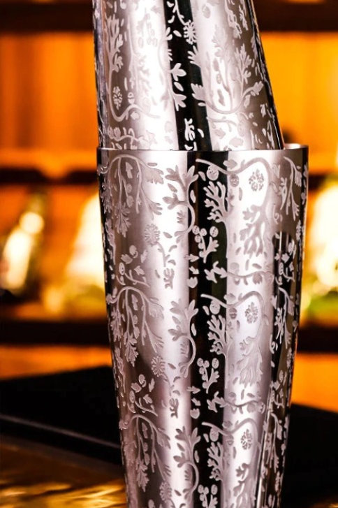 Boston Cocktail Shaker with Beautiful Design
