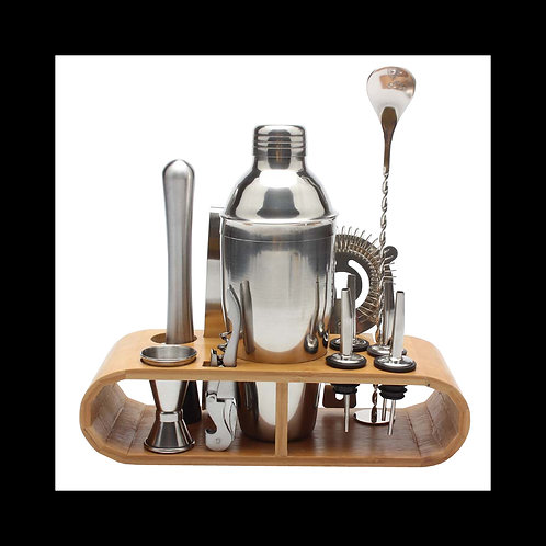 Stainless Steel Cocktail Shaker Set 12pcs/set