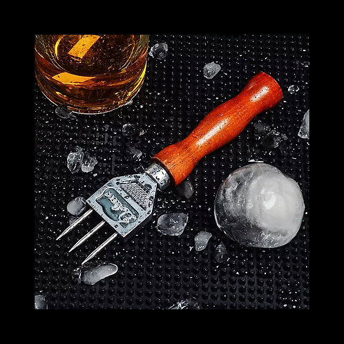 Ice Pick - Sturdy Ice Chipper With Solid Wood Handle