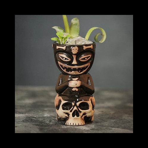 Skull Doll Tiki Cocktail Mug