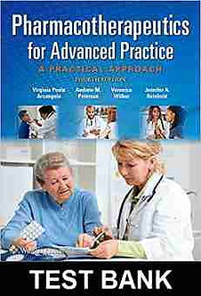 TEST BANK Pharmacotherapeutics for Advanced Practice 4th Edition