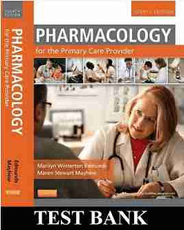 Pharmacology for the Primary Care Provider 4th Edition Edmunds TEST BANK