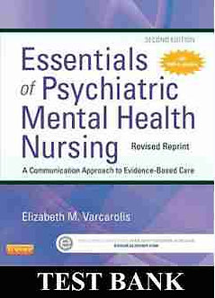 Essentials of Psychiatric Mental Health Nursing 2nd Edition Varcarolis Test Bank